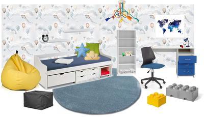 Detská izba pre školákov (6-12 rokov)
