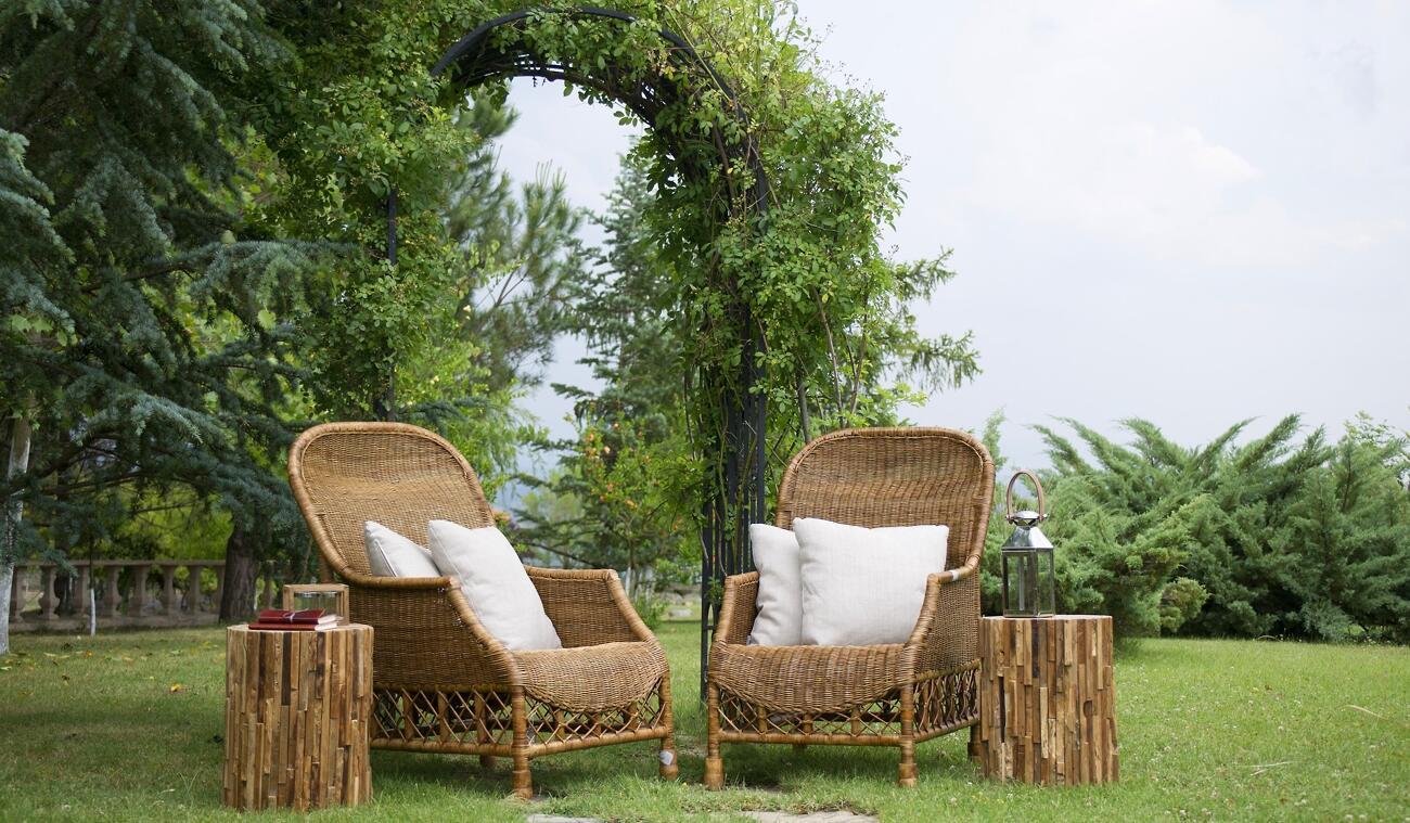Bambusový nábytok sa skvelé hodí nielen do interiéru ale aj na záhradu či balkón. Vyskúšali ste už ale textil z bambusu?