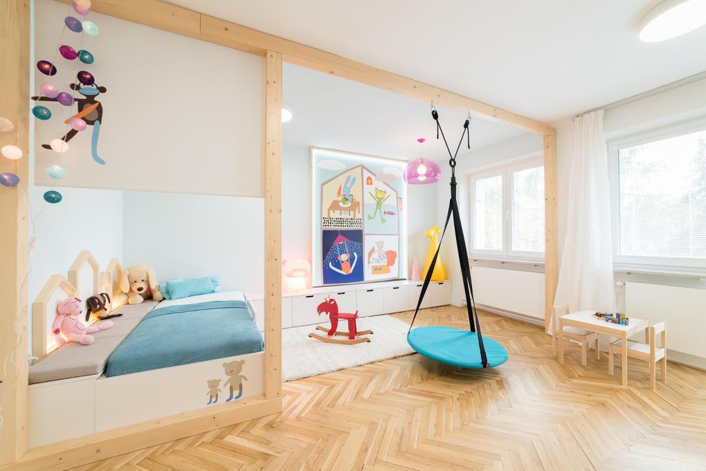 Pri zariaďovaní detskej izby myslite na kvalitný matrac, dobré osvetlenie, vhodnú podlahu a poriadne skladovacie priestory