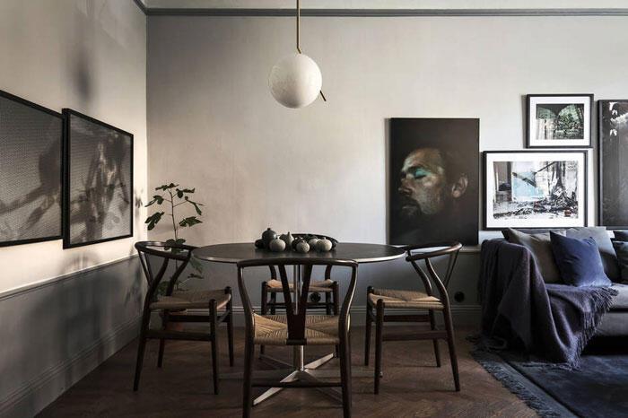 Keď sa s čiernou pracuje opatrne, môže byť skvelým kľúčovým prvkom interiéru.