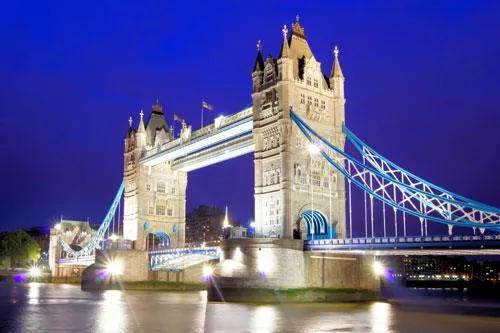 Vliesové fototapety, rozmer 312 x 219 cm, Tower Bridge, IMPOL TRADE 172VE