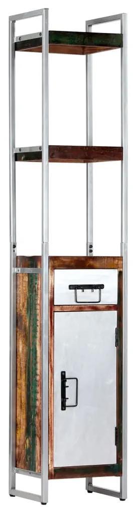vidaXL Vysoká skrinka 40x30x180 cm masívne recyklované drevo
