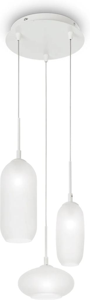 Závesné svietidlo Ideal lux 173009 YOGA SP3 NERO 3xG9 40W čierna