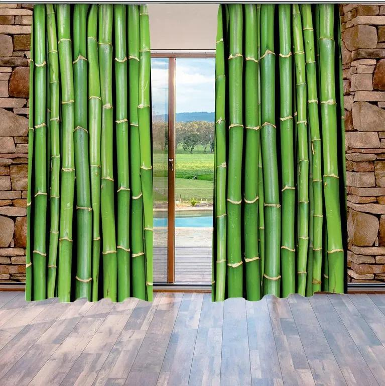 Závesy Bambus (Rozmer: 140x250)