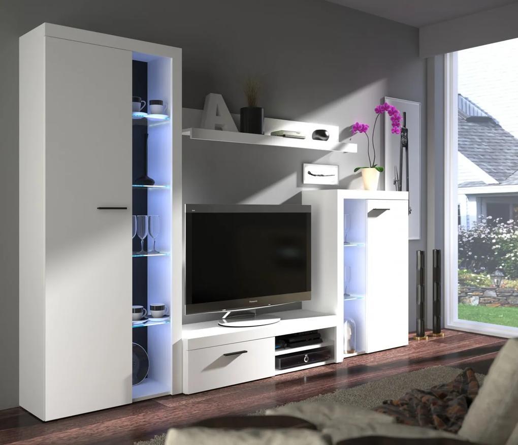Veľká obývacia stena, model Pires