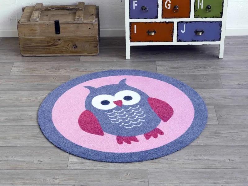 Zala Living - Hanse Home koberce Kusový koberec Deko round 101941 - 100x100 kruh cm