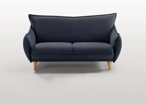 Pohovka DELTA 2,5 sedák, tmavě modrá Böhm čalouněný nábytek