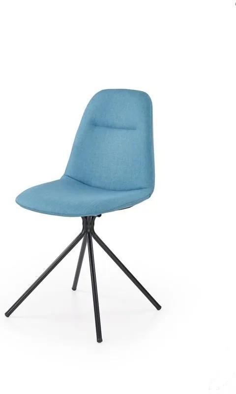 Halmar Jídelní židle K240 tyrkysová