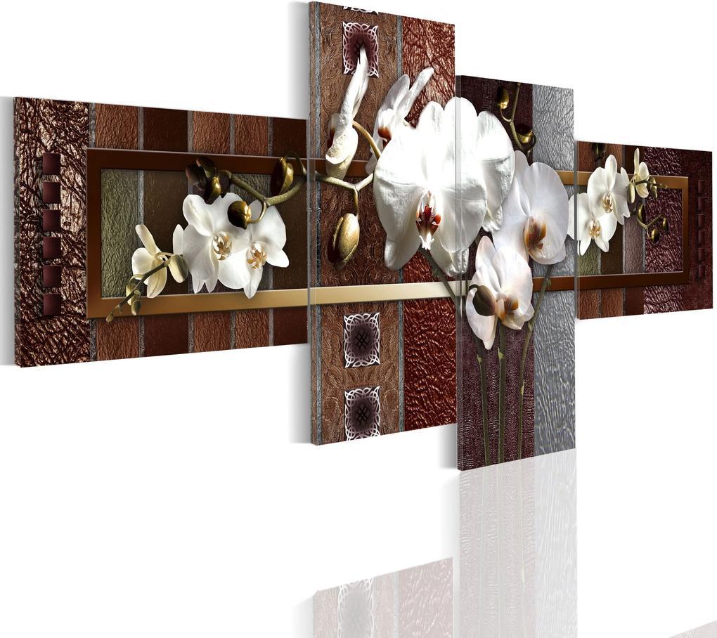 Obraz - Elegant orchid 100x45