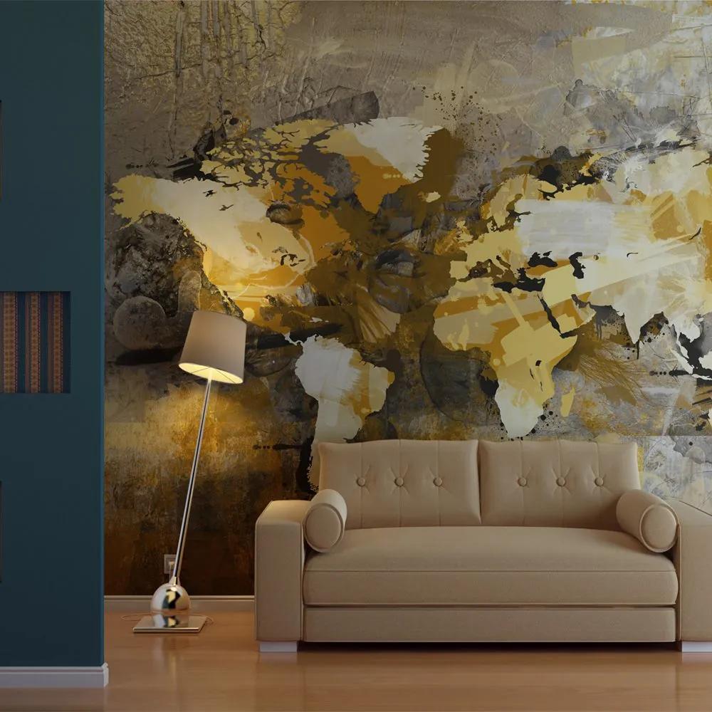 Fototapeta - Artistic map of the World 200x154