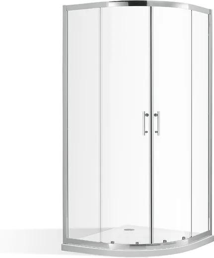 Štvrťkruhový sprchovací kút OBR2 90 cm 90 cm