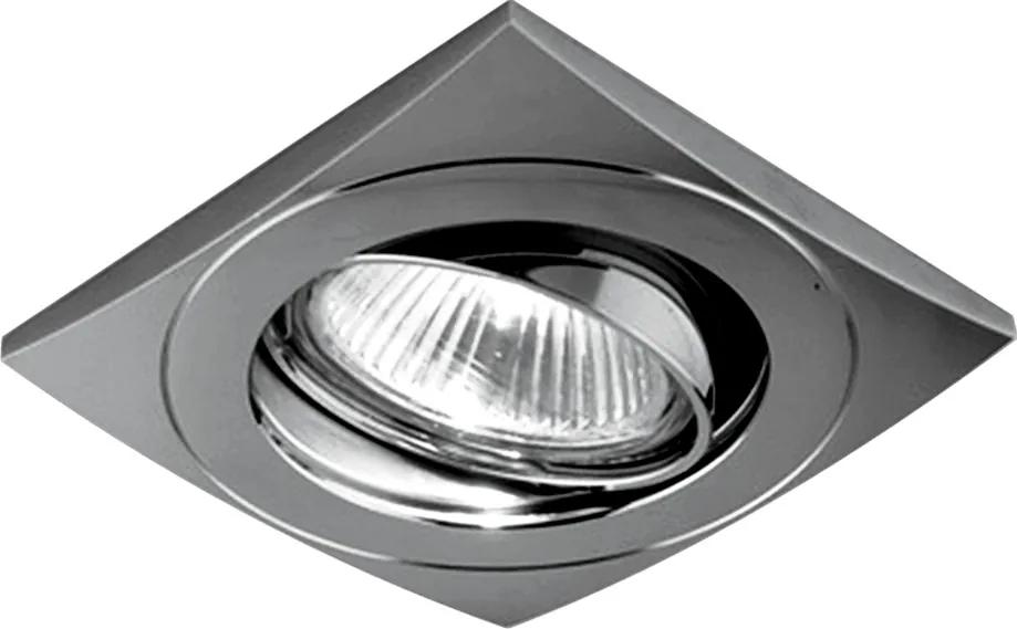 Emithor 71029 ELEGANT METAL zápustné svietidlo GU10 / 50W, matný nikel
