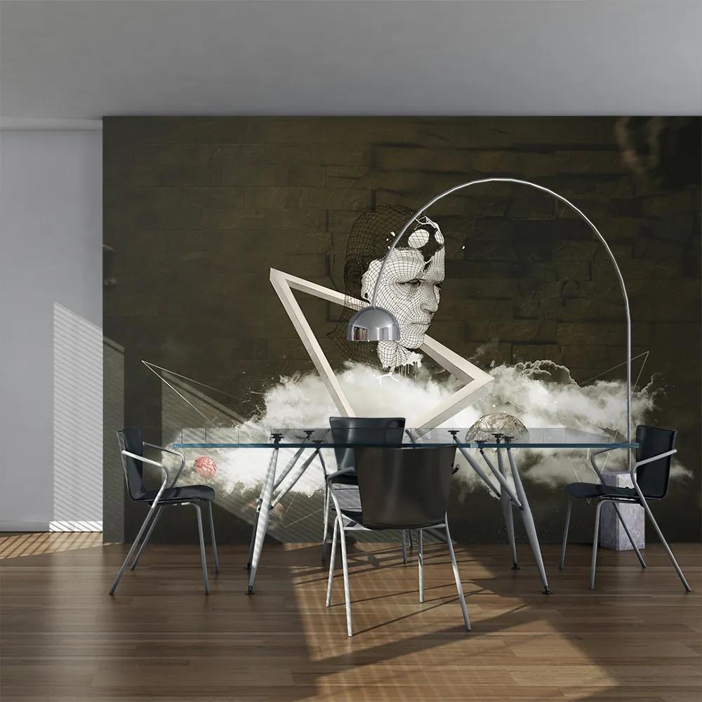 Bimago Fototapeta - The process of creation 350x270 cm