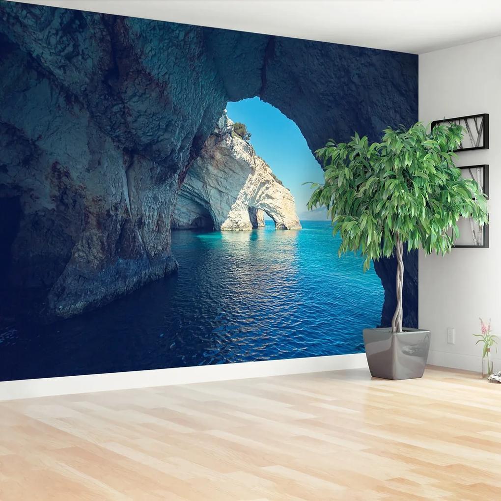Fototapeta more jaskyne