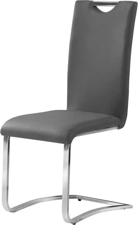Najlacnejsinabytok H-790 jedálenská stolička, šedá