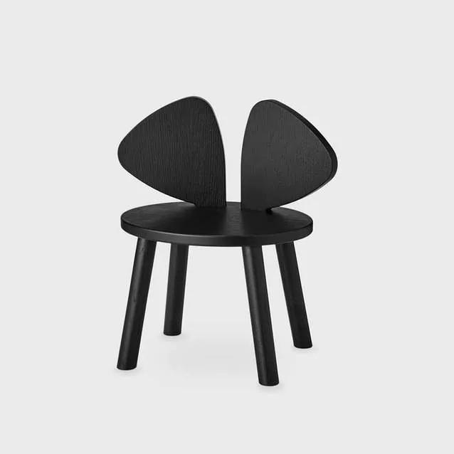Stolička Nofred Mouse čierna