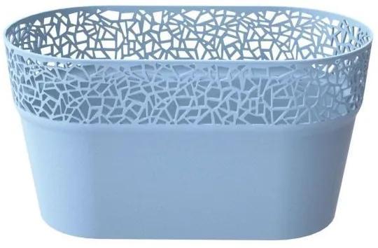 PlasticFuture Truhlík FRANCIS 27,5 cm modrý