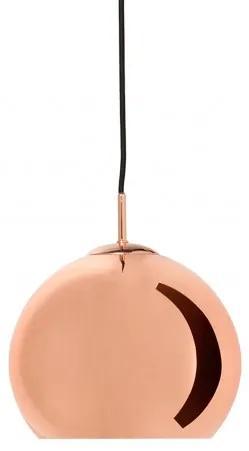 Ball Pendant, závěsné světlo Ø25 cm měděná/lesk Frandsen lighting 5706449491885