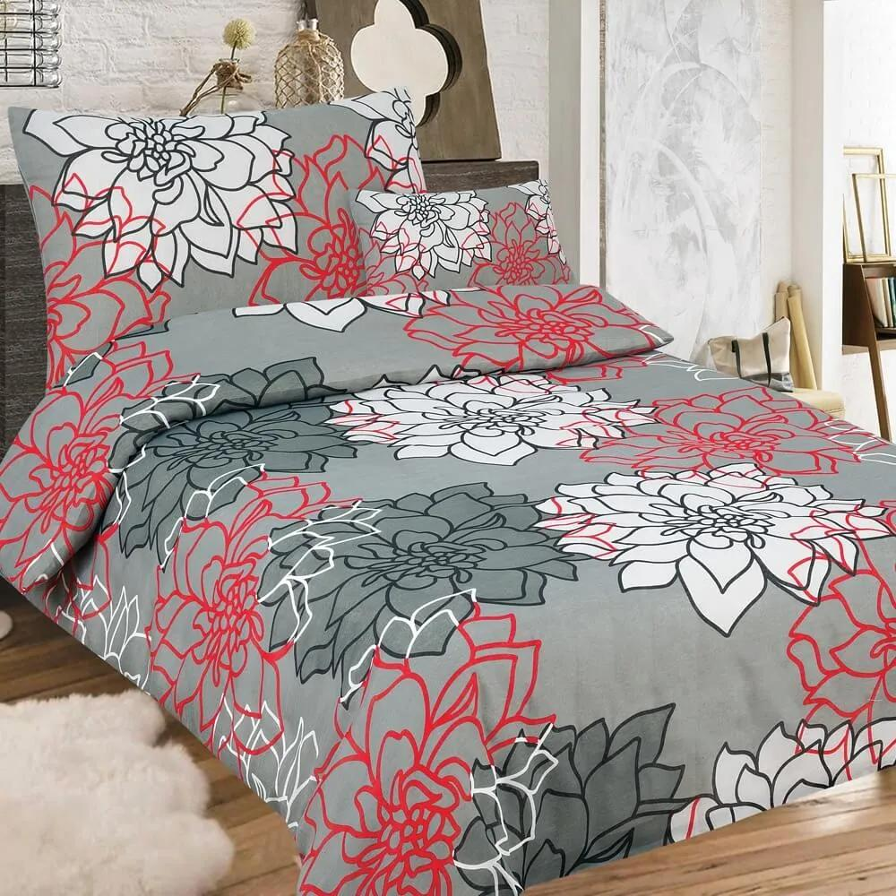 True Cotton Krepové obliečky Annastasia (3-dielna sada), 140 x 200 cm