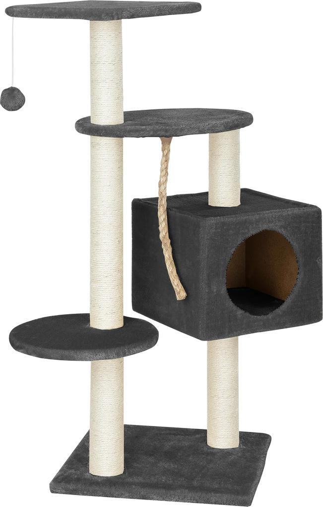 [en.casa]® Škrabací strom pre mačky HTCT-3902