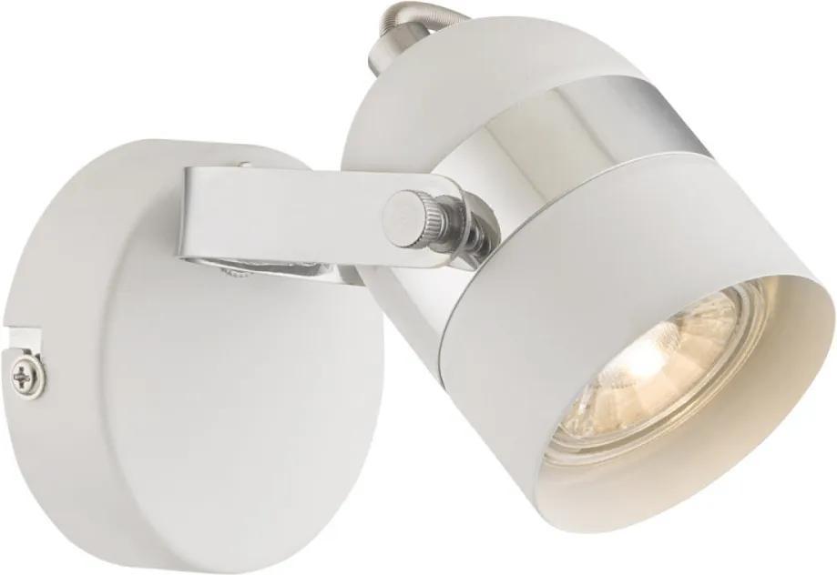 Globo 57353-1 Nástenné Lampy biely biely LED - 1 x 5W 14 x 8,5 x 12 cm