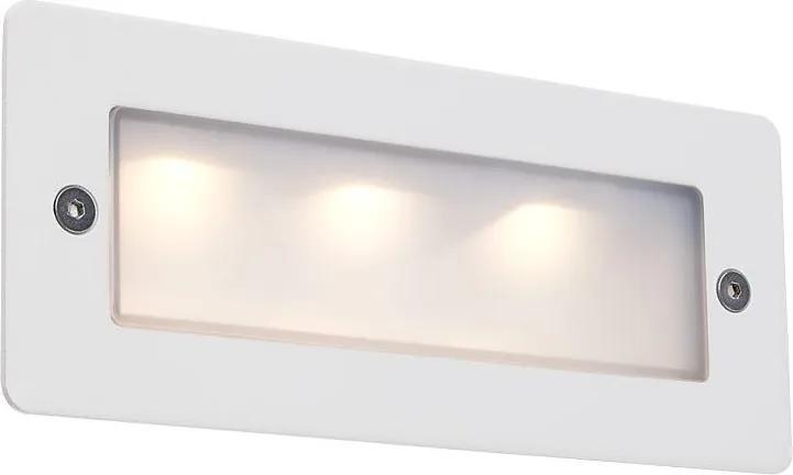 Redo 9639 PANO zápustné nástenné svietidlo LED 3 x 1W POWER LED 89lm IP65