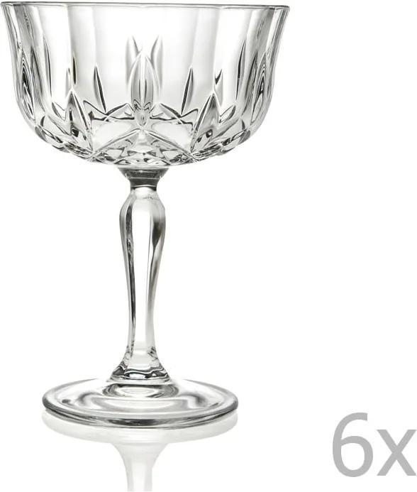 Sada 6 pohárov RCR Cristalleria Italiana Sonia
