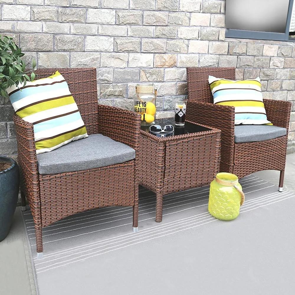 Set zahradního nábytku 5-dílný AVENBERG RIMINI