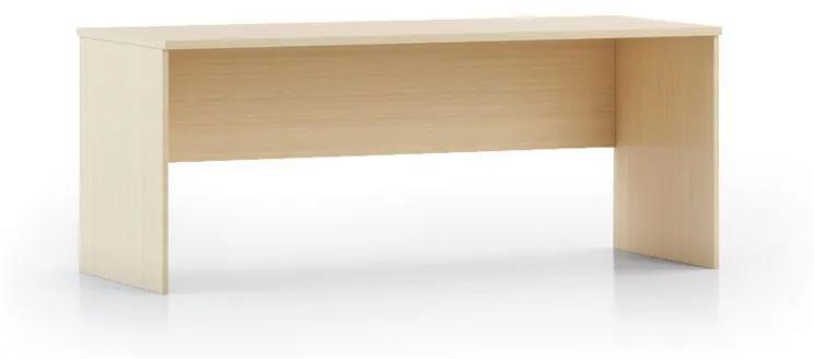 Písací stôl INTEGRO, 740 x 1750 x 700 mm, buk