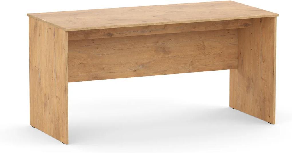 DREVONA09 Písací stôl rokovací dub lancelot REA OFFICE 60 pi/za