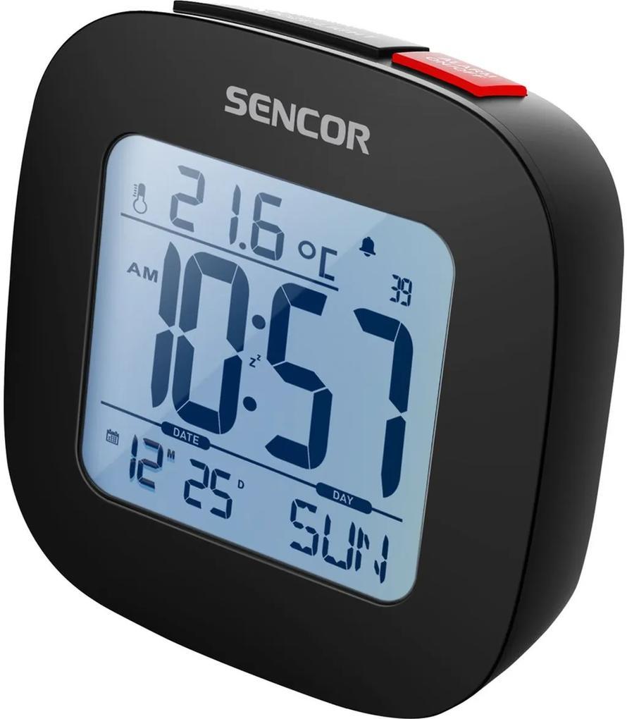 SENCOR SDC 1200 B hodiny s budíkom 35049016