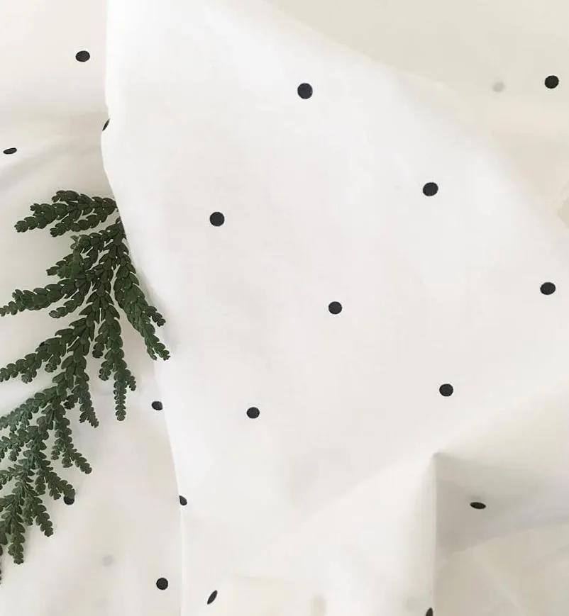 Obliečky biele LIEWOOD Junior s bodkami