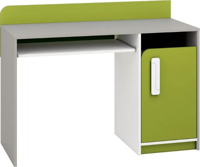 MLnábytok Písací stolík IQ 11 Farba: Zelená