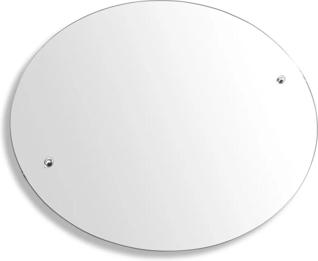 Novaservis Metalia 3 6315 zrkadlo guľaté 60 cm
