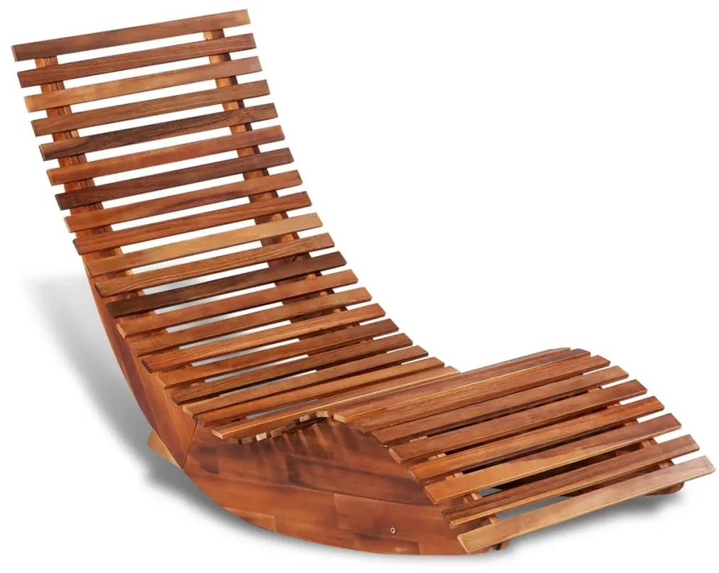 vidaXL Hojdacie ležadlo z akáciového dreva