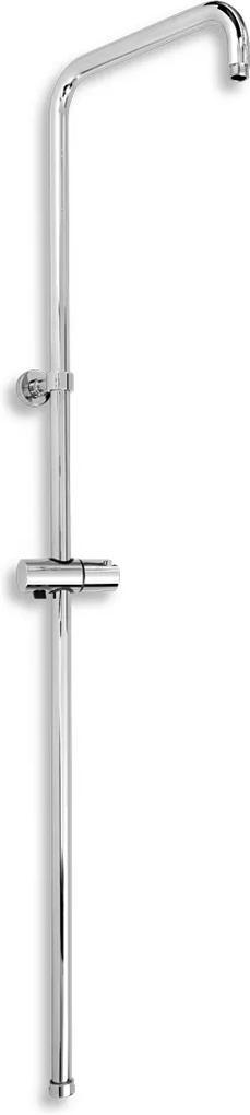 Novaservis SET067,0 sprchová tyč s jazdcom k batérii s horným vývodom
