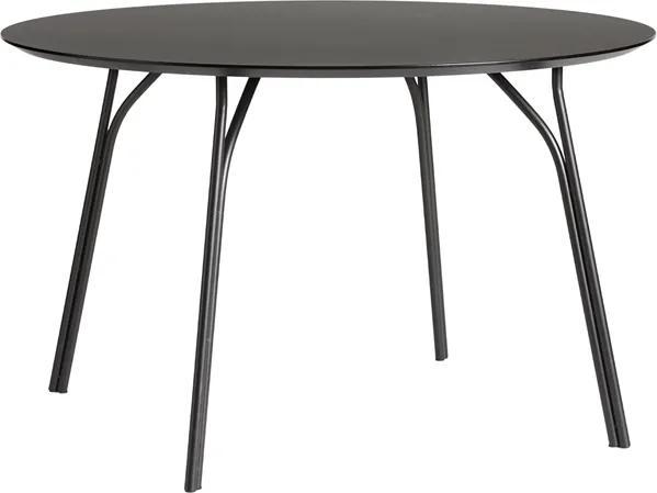 """Jedálenský stôl """"Tree"""", 120 cm, 3 varianty - Woud Varianta: čierna, čierne nohy"""