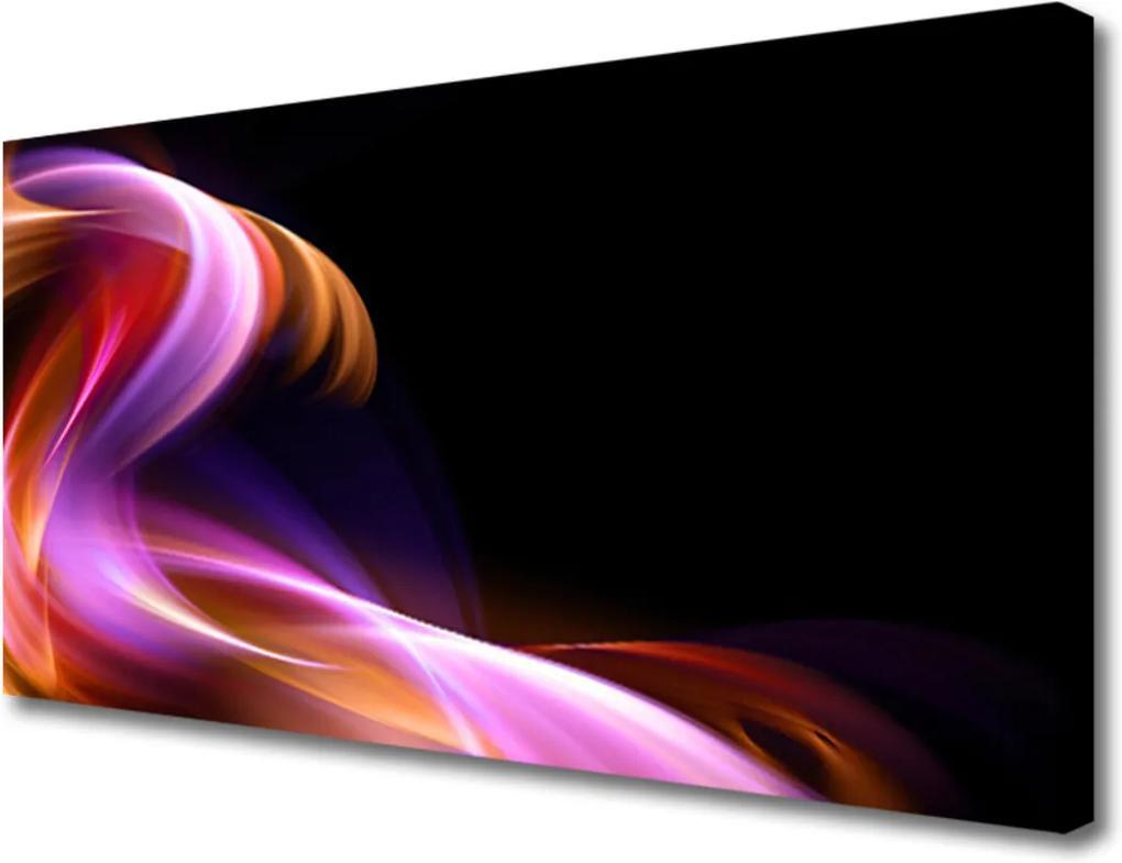 Obraz na plátně Abstrakcie Vlna Umenie