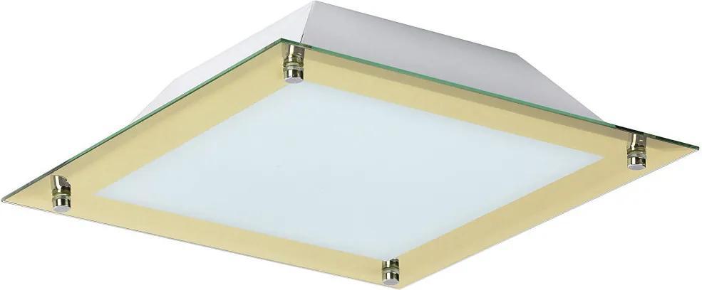 Rábalux 3047 Stropné Svietidlá Lars pozlatený kov LED 12W 960lm 3000K IP20 A+