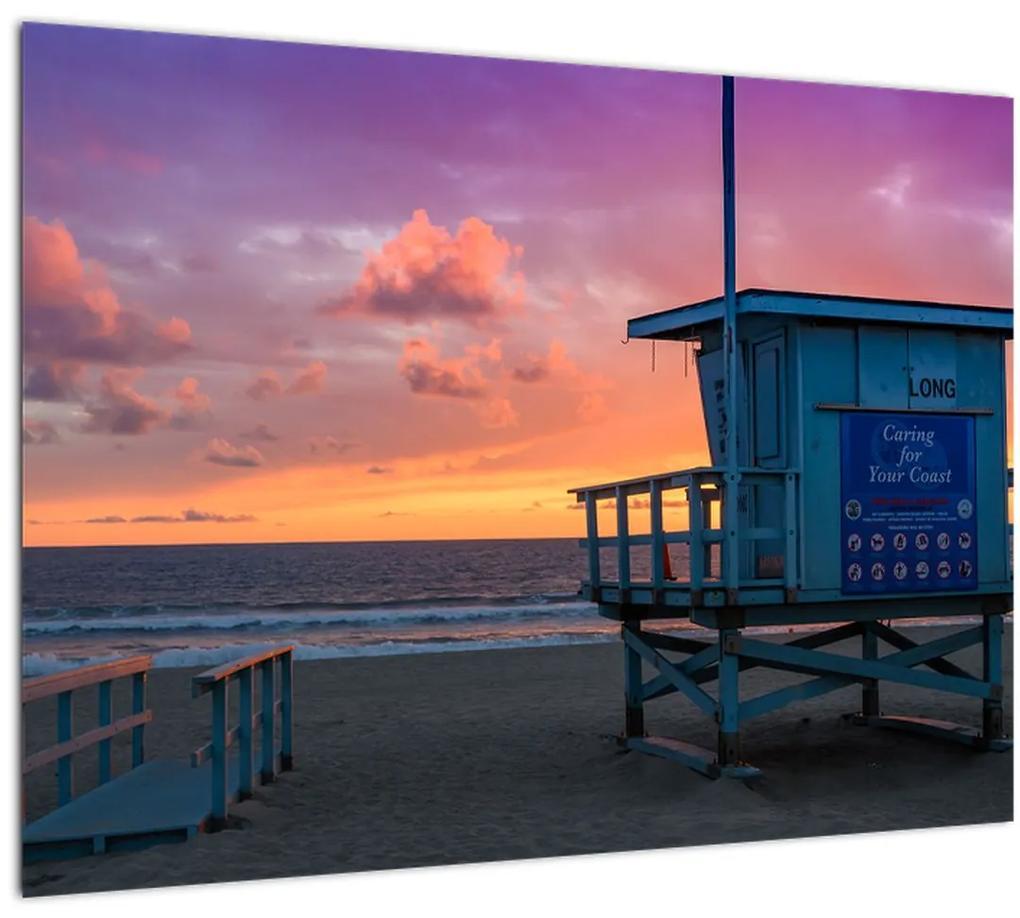 Obraz z pláže Santa Monica (70x50 cm), 40 ďalších rozmerov