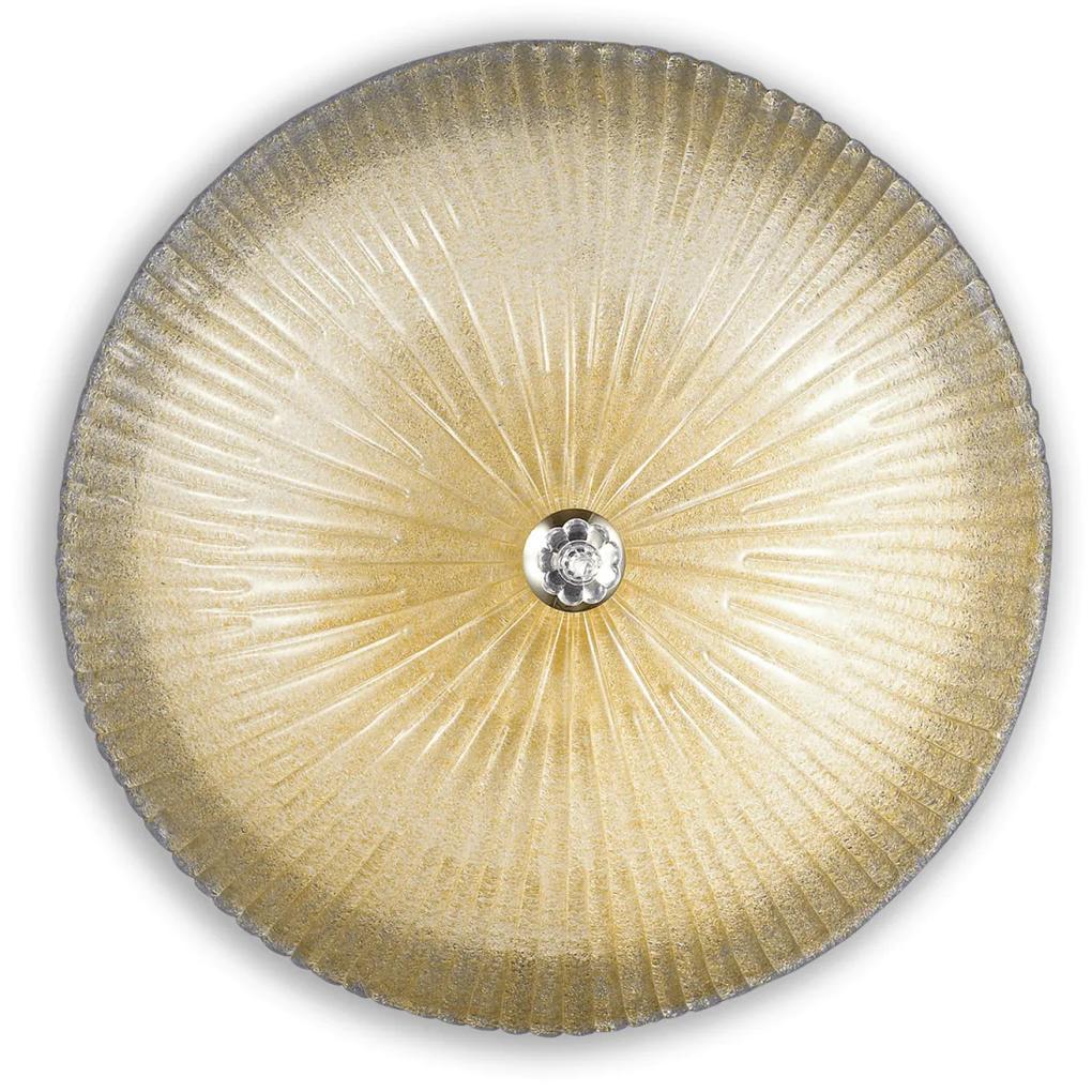 Stropné svietidlo Ideal lux 140193 SHELL PL6 AMBRA 6xE27 60W biela