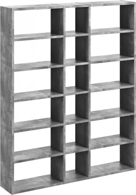Designová knihovna Manoel II., beton 9500.516283 Porto Deco