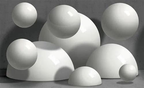 Fototapety, rozmer 368 x 254 cm, 3D guľe, 2942 P8, IMPOL TRADE