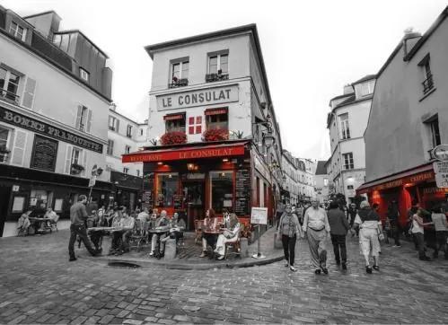 Luxusné vliesové fototapety, rozmer 372 cm x 270 cm, Paríž, P+S International CL37B