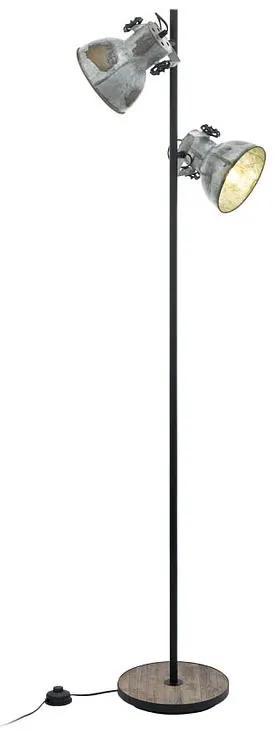 Eglo 49722 BARNSTAPLE Trend & Vintage stojanové svietidlo E27 2X40W
