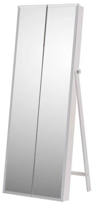 TEMPO KONDELA Oneon stojace zrkadlo biela