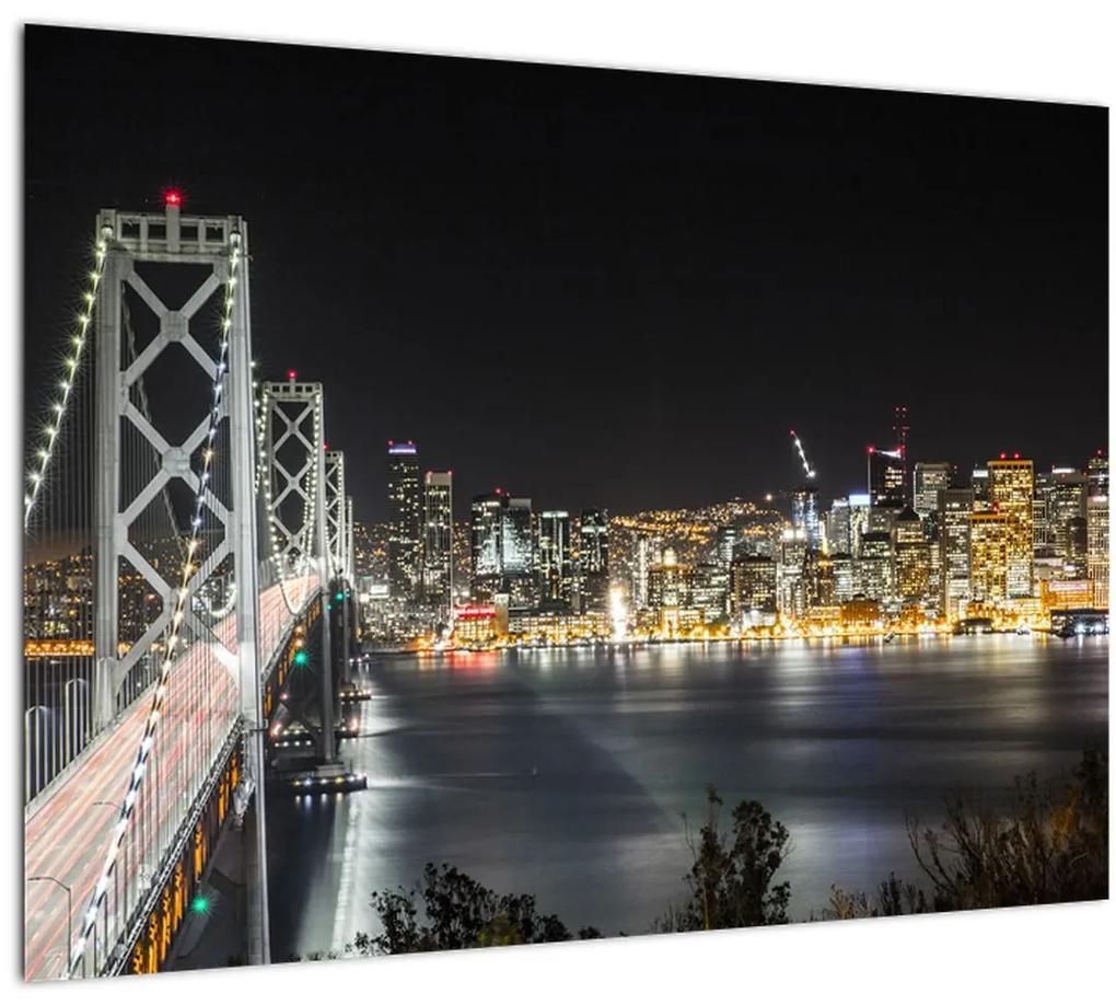 Obraz Brooklynského mostu a New Yorku (70x50 cm), 40 ďalších rozmerov