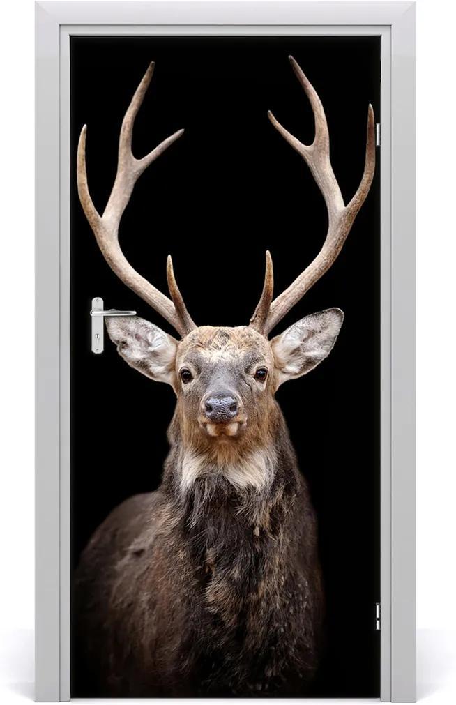 Samolepící fototapeta na dveře Jelen