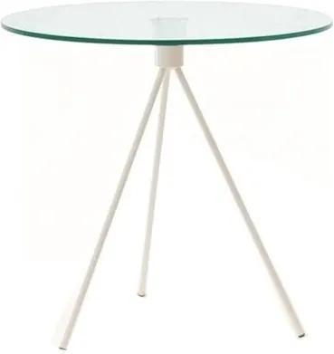 Odkládací stolek Bohem 50 cm, bílá SMP054 Design Project
