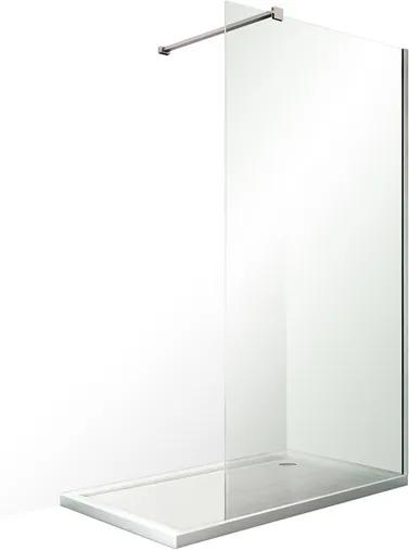 Bezrámová sprchová zástena OBWALK 120 cm 200 cm